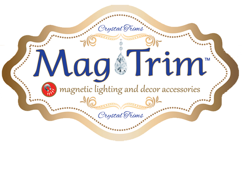 Magtrim the worlds first magnetic chandelier crystals and ornaments aloadofball Choice Image