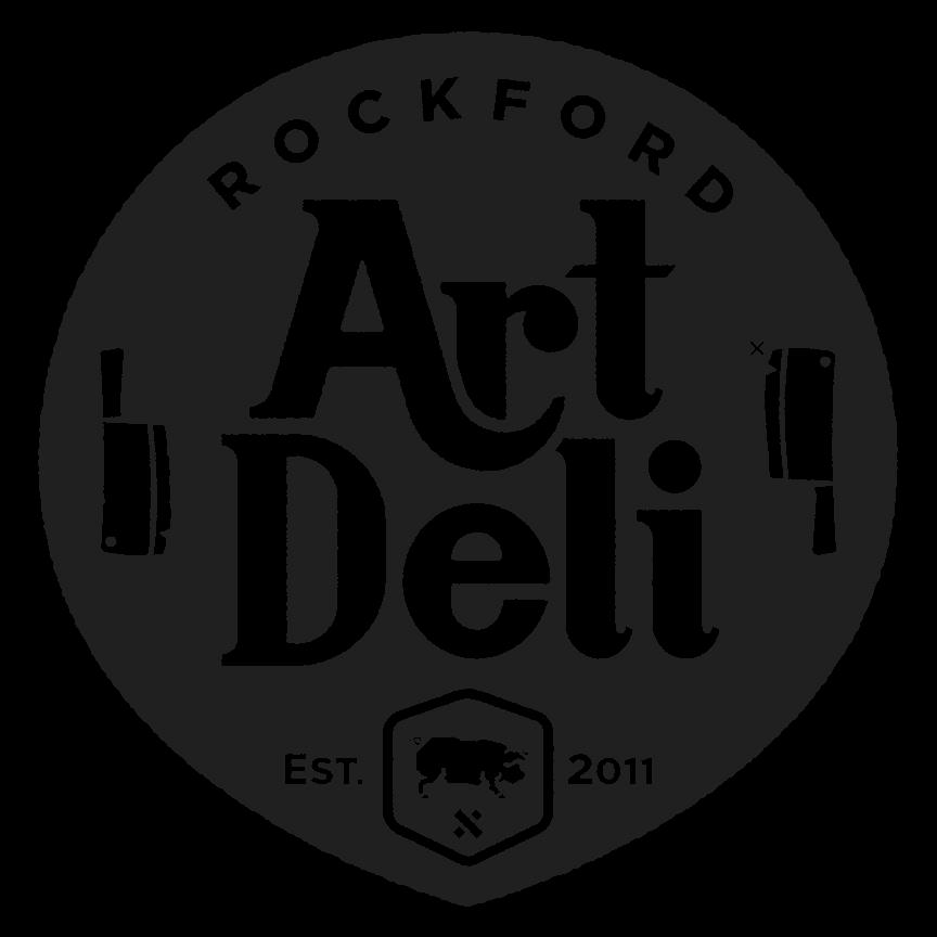 Rockford Art Deli Original Hand Printed Usa Made